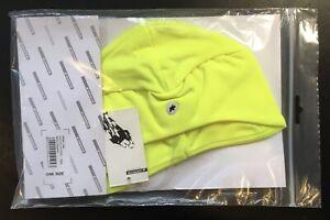 Assos Stinger Cap Hat - Soho Neon Yellow Medium