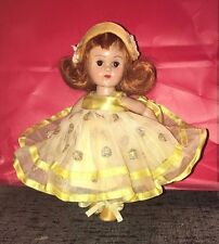 Vintage Vogue Ginny Doll Formals Yellow Crayon Dress Complete Outfit HTF 6064