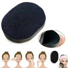 Bamboo Charcoal Facial Face Deep Cleansing Washing Sponge Puff Foundation Makeup
