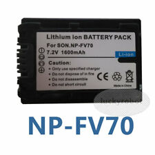 NP-FV70 For Sony HDR-CX190 HDR-CX200 HDR-CX210 Handycam Camcorder Battery