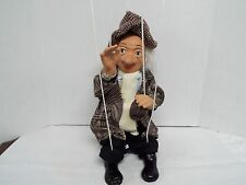 """17 """" Porcelain HoBo Clown Marionette"""