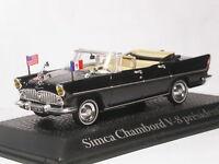 ATLAS 1/43 Simca Chambord Presidential Car