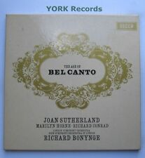 SET 268/9 - THE ART OF BEL CANTO  Sutherland / Horne - Ex Con 2 LP Record Set