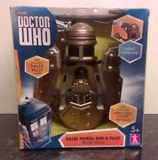 Doctor Who Dalek Patrol Ship and Pilot Deluxe Vehicle – Still Sealed In Box