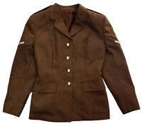 Genuine British Army No 2 Dress Uniform Jacket Tunic All Ranks Khaki WOMAN'S