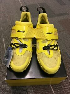 Mavic Cosmic Ultimate Tri Cycling Bike Shoes Men's Sz US7 Brand New w/ Box IOB