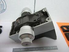 MICROSCOPE DIALUX LEITZ WETZLAR GERMANY STAGE MICROMETER ARM OPTICS BIN#K8ii