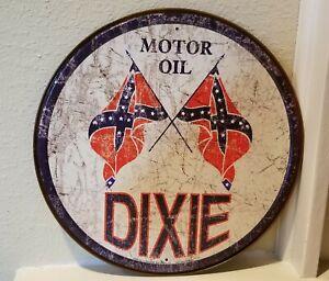 Dixie Motor Oil Sign