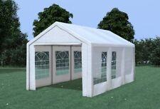 3x6 m Partyzelt Festzelt Bierzelt Pavillon inkl Seitenwände PVC weiß