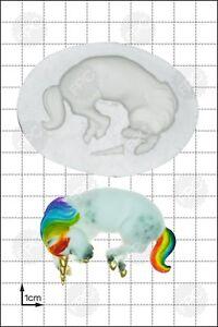Silicone mould Sleeping Unicorn | Food Use FPC Sugarcraft FREE UK shipping!