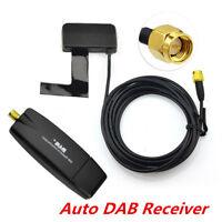 Universal Auto DAB + Digital Radio Audio Broadcast Antenne + USB 2.0 Dongle 1x