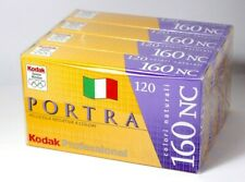 Kodak Portra 160 NC - 120 Film - 20 Rolls - Box Sealed Rare