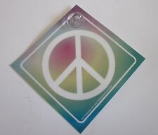 Peace Car/Truck Window Sign w/ Suction Cup (Made in USA)
