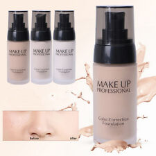 Whitening Flawless Coverage Fluid Liquid Concealer Color Correction Foundation