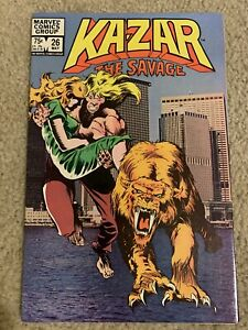 Ka-Zar the Savage Issue# 26 29 31 32 33 34 ~~last And Final Issue Of The Series