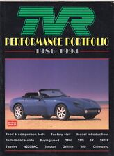 TVR 280i 350i 390SE 420SEAC S TUSCAN GRIFFITH CHIMAERA (1986-94) ROAD TESTS BOOK