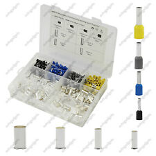440pcs Insulated Electrical Wire Ferrules Kits Crimp Terminal Connector Sleeves