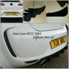 seat leon BTCC diffuser/seat leon btcc race fins/seat leon btcc bumper diffuserr