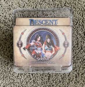 Descent Journeys In The Dark Serena Lieutenant Pack NEW SEALED