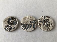Quirky Large Ceramic Buttons X 3