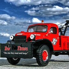 RARE - TOW TIMES  - 1949 DODGE POWER WAGON WRECKER - First Gear TOW