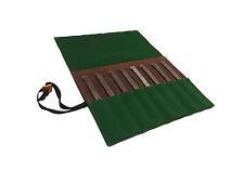 Greene Sleeves 8 Pocket Wool Felt & Waxed Canvas Tool Roll