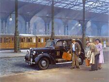 AUSTIN FX3 London Taxi Taxi Nero compleanno carta