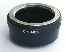 C/Y CY Contax Yashica to Sony E NEX Lens Mount Adapter Nex5 Nex6 Nex7 CY-NEX