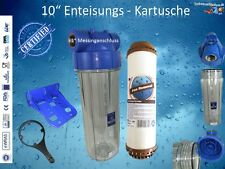 "1"" SINGLE EISENFILTER WASSER FILTER ENTEISUNG BRUNNENFILTER"