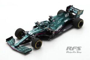 Aston Martin AMR21 Lance Stroll Formel Formula 1 Bahrain GP 2021 1:43 Spark 7673