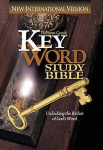 NIV Hebrew-Greek Key Word Study Bible by Spiros Zodhiates