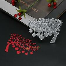 Love Heart Tree Metal Cutting Dies Stencil DIY Scrapbooking Embossing Card Craft