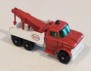 71-C2 EXC/NM Ford Heavy Wreck Truck Esso Lesney Matchbox circa '68
