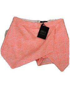 ladies Skirt/Shorts/ Skort  size 10 Bright Peach