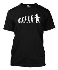 Robot Evolution Big Bang Theory Men's T-shirt