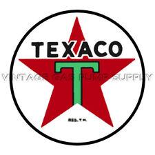 "Texaco Star 12"" Vinyl Decal (DC120)"