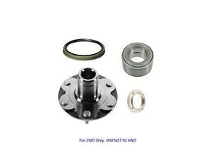 New Front Wheel Hub Bearing Kit w/ Seal Fit 4Runner Sequoia Tundra Tacoma 2WD