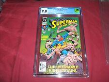 Superman: Man of Steel #17 dc 1992 CGC 9.8 comic! 1ST DOOMSDAY! (Cameo)