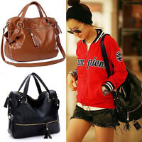 New Fashion Handbag Lady Shoulder Bag Tote Purse PU Leather Women Messenger Hobo