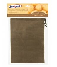 SealAPack Potato Storage Bag With Drawstring Fresher for Longer 35cm X 26cm