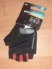 Boardman Mens Cycling Gloves/Mitts Black/Red Size M