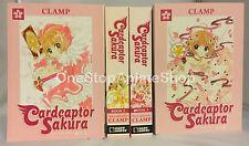 Cardcaptor Sakura omnibus manga set volumes 1-4 complete new