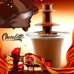 Fuente de Chocolate para Fondue Maquina Fuentes Chocolatera Fiesta Centro Mesa