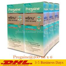 Pregaine Clear Gel Shampoo for Thinning Hair Clean Healthy Men Women 200 ml x 6