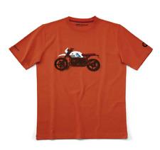Original BMW Motorrad T-Shirt R Nine T Urban G/S Orange verschiedene Größen