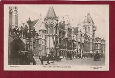 Rare VTG RP Postcard.Law Courts,London.Davidson Bros.Real Photo Ser. 5.36-1..J12