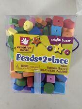 Fibre Craft Creative Hands Foam Beads 2 Lace Kit