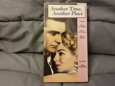 Another Time, Another Place (1958) - VHS Tape - Drama / War - Lana Turner - NEW