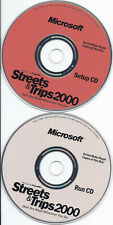 Microsoft Streets & Trips 2000 (Maps Travel Software, 2 Cds)