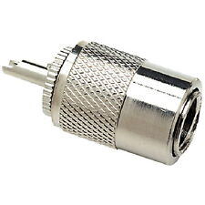 VHF Marine Radio PL259 Coaxial Cable Plug for Boats